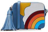 Anya Hindmarch Rainbow Leather Crossbody Shoulder Bag