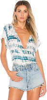 Michael Stars Peasant Top in White. - size M (also in S,XS)
