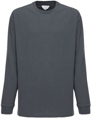 Bottega Veneta Sunrise Lightweight Long Sleeve T-shirt