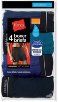 Hanes Red Label Men's Sports-inspired Boxer-brief (Pack of Five Pairs)