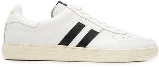 Tom Ford Double Stripes Lace-Up Sneakers