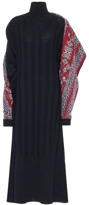 Y/Project Wool-blend sweater dress
