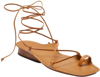 Banana Republic Leather Gladiator Sandal