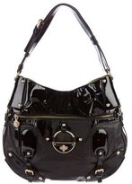 Versace Textured Leather Hobo
