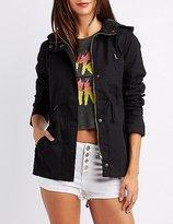 Charlotte Russe Hooded Anorak Jacket