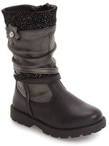 Laura Ashley Toddler Girl's Slouch Flower Boot