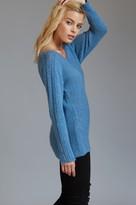 Dynamite Off-The-Shoulder Dolman Sleeve Sweater