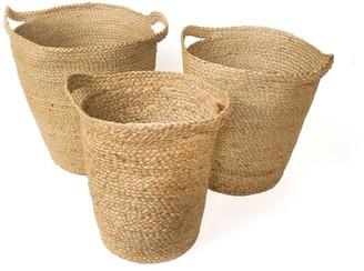 Korissa Kata Basket With Slit Handle - Set of 3