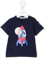 Moncler print T-shirt - kids - Cotton/Spandex/Elastane - 3-6 mth