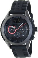 Armani Exchange A|X Men's AX1212 Silicone Quartz Watch