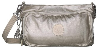 Kipling Myrte Convertible Crossbody Bag (Cloud Metal) Handbags