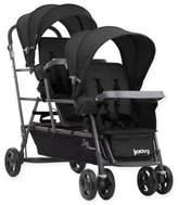 Joovy Big Caboose Graphite Stand-On Triple Stroller in Black