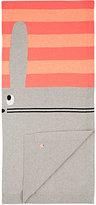 The Bonnie Mob Bunny-Knit Cotton-Cashmere Blanket