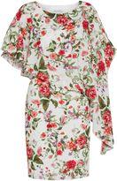 Gina Bacconi Summer garden chiffon dress