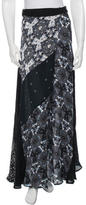 A.L.C. Printed Silk Skirt