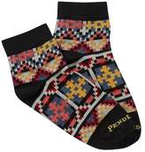 Pendleton Geo Tapestry Print Low Crew Socks