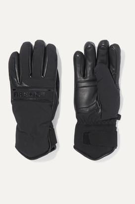 Bogner Fire & Ice BOGNER FIREICE - Isa Padded Leather And Shell Ski Gloves - Black