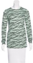 Proenza Schouler Abstract Print Long Sleeve T-Shirt w/ Tags