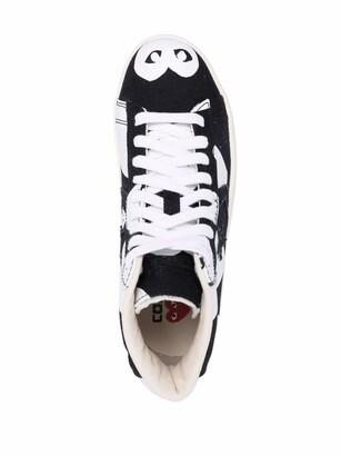 COMME DES GARÇONS PLAY X CONVERSE x Converse All Star high-top sneakers