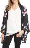 Ted Baker Women's Kensington Floral Silk Cape