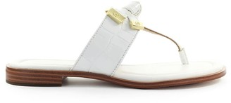 Michael Kors Ripley White Thong Sandal
