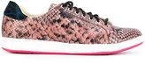 Paul Smith snakeskin effect sneakers