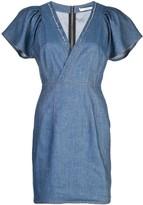 Derek Lam 10 Crosby V-neck denim dress