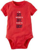 Carter's Dad's Lucky Collectible Bodysuit