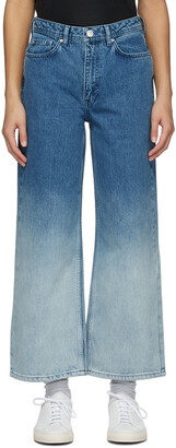 Won Hundred Blue Kiri Dip-Dye Jeans