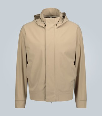 Harris Wharf London Lightweight hooded jacket