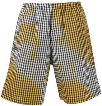 Ottolinger Gingham-Check Shorts