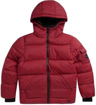 Animal Boys Gus Padded Coat - Red