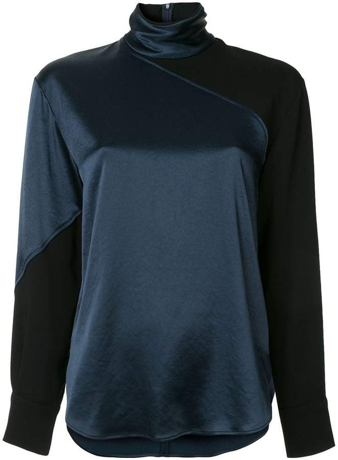 Cédric Charlier high neck blouse
