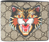 Gucci Angry cat print wallet