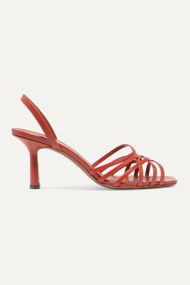 Neous Scuticaria Leather Slingback Sandals - Tan