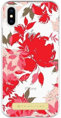 Trina Turk iPhone X - Wintergarden Black