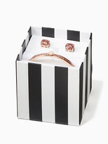 Kate Spade Bangle and stud box set
