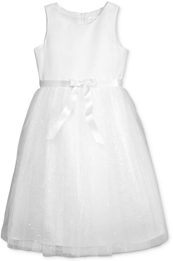 Us Angels Lavender by Sequin Skirt Dress, Little Girls