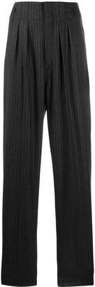 Isabel Marant Magali pinstriped suit trousers