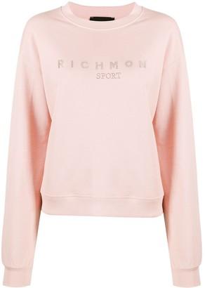 John Richmond Ypres logo cotton sweatshirt