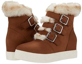 J/Slides Spat Waterproof (Tan Nubuck) Women's Shoes