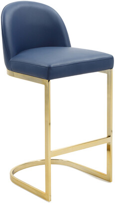 Chic Home Xander Navy Counter Stool