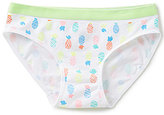 Copper Key Big Girls 7-16 Pineapple-Print Seamless Panties