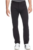 Armani Jeans Men's Straight-Leg Jeans, Black Wash