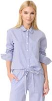 Anine Bing Striped Pajama Shirt