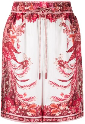 Zimmermann Silk Straight Shorts