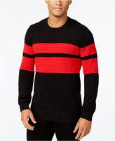 Sean John Men's Double Stripe Sweater