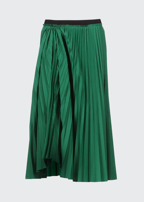 Marni Pleated Full Midi Skirt