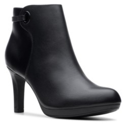 Clarks Collection Women's Adriel Mae Heeled Booties Women's Shoes
