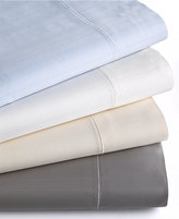 Hotel Collection 700 Thread Count Striped MicroCotton Queen Flat Sheet